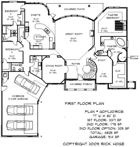 4000 Sq Ft House Plans Home Planning Ideas 2018 One Story House Plans 5000 Square