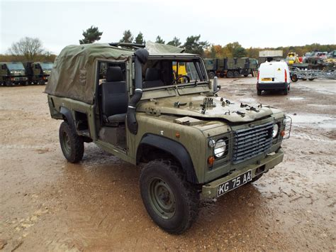 land rover wolf you are bidding on direct from the uk ministry of defence