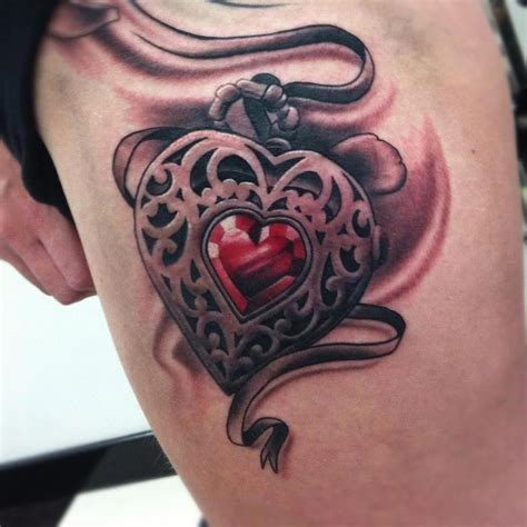 heart tattoos page