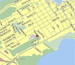 midland on map plumb design location midland ontario