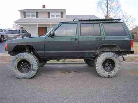 2000 Jeep 4 0 Engine For Sale Sell Used 2000 Lifted 4x4 Jeep Sport 4 Door 4 0l