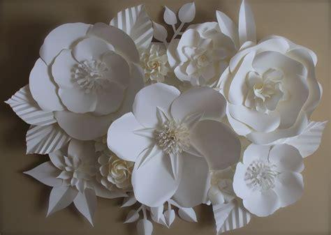 Big Paper Flowers - large paper flower backdrop paperflowerstudio