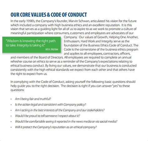 sle code of conduct 5 documents in pdf