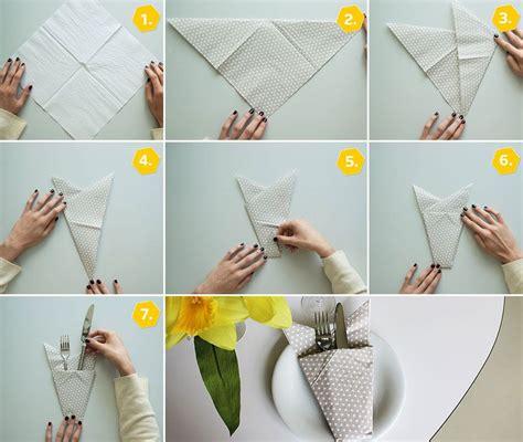 serviettenfalttechniken mit papierservietten servietten falten einfach 15 anleitungen f 252 r jeden anlass
