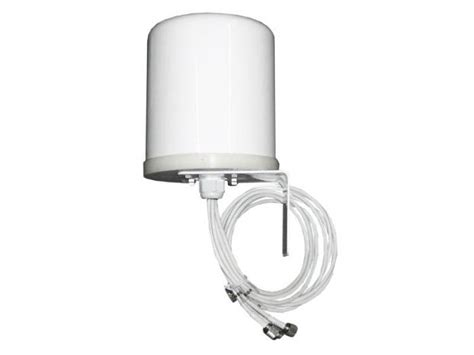 Cisco Aironet 2 4 Ghz Mimo Wall Mounted Omnidirectional Antenna Air A cisco 2 4 ghz 4 dbi 802 11n omni wall mount antenna in ebuyer
