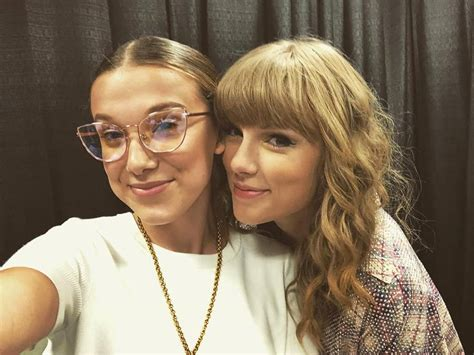 taylor swift concert asia 2018 millie bobby brown had the best time at a taylor swift