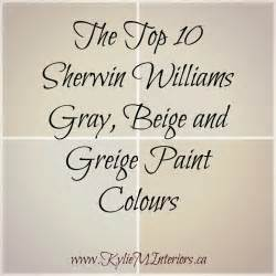 best greige paint colors sherwin williams the 10 best gray and greige paint