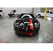 Jaguar F Type S Dragon Fire Red Vinyl Accents  Car Wrap City