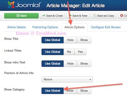 video tutorial joomla 3 0 joomla 3 0 how to remove category name from article