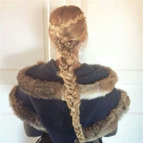 cute girl hairstyles viking braid pin by annette stevenson on stylin pinterest