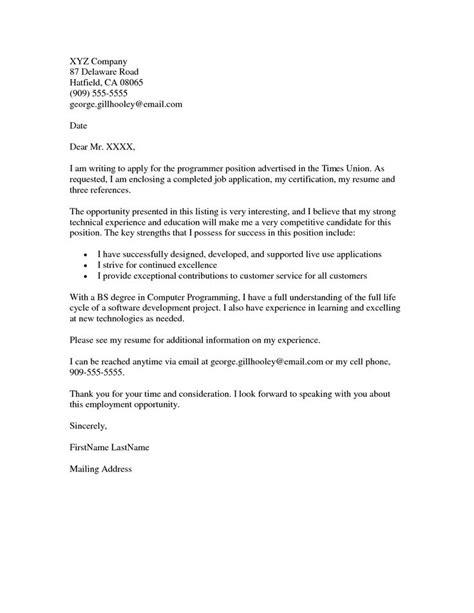 job application cover letter  resumes job application cover letter pinterest