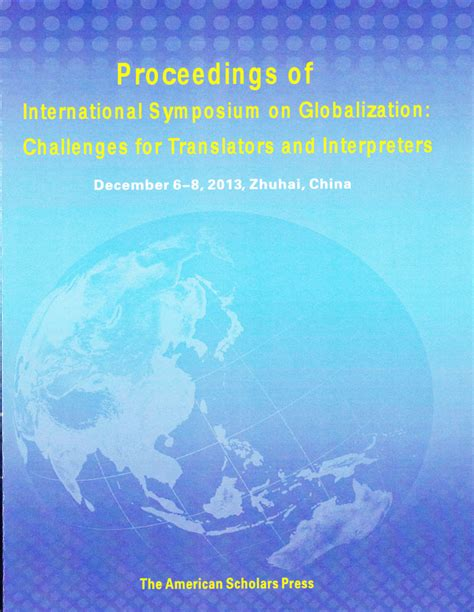 research on translator and interpreter a collective volume of bibliometric reviews and empirical studies on learners new frontiers in translation studies books american scholars press