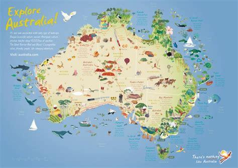 australia travel map se rendre en australie en touriste pvtistes net