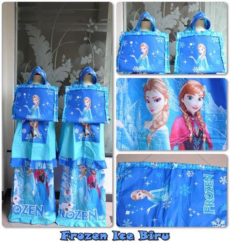 Jilbab Anak Frozen mukena frozen jilbab instan
