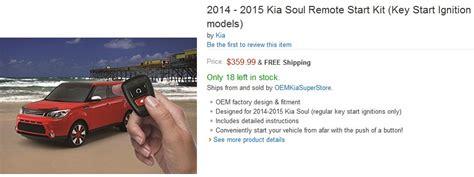 Kia Soul Remote Start Kia Soul Remote Start Kit Pricing Review Kia News