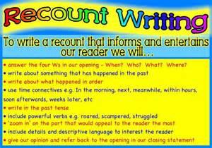8englishcm recount writing