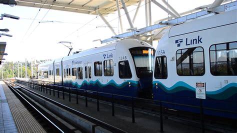 Sound Transit Link Light Rail by Sound Transit Link Light Rail Westlake Station Bound
