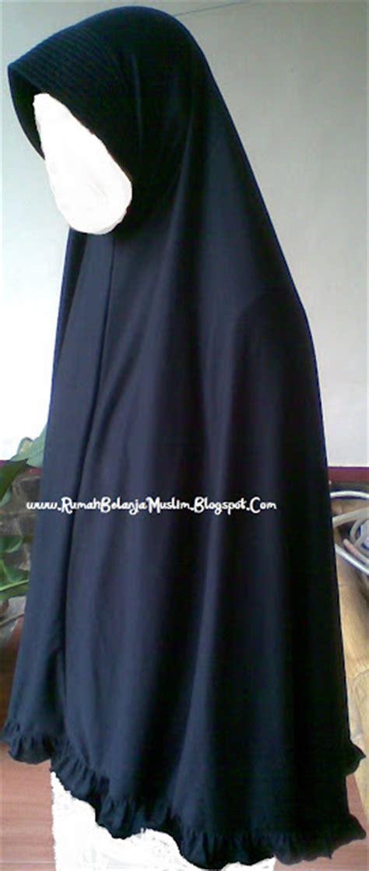 Jilbab Kaos Panjang Jilbab Panjang Kaos Rayon Hitam