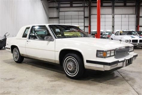 1985 cadillac coupe 1985 cadillac coupe 40377 white coupe 4 1l