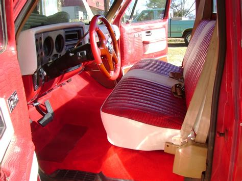 Truck Upholstery by 1976 Chevy Truck Treutlen Upholstery