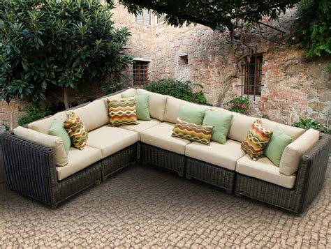 outdoor furniture sectional sofa outstanding outdoor patio