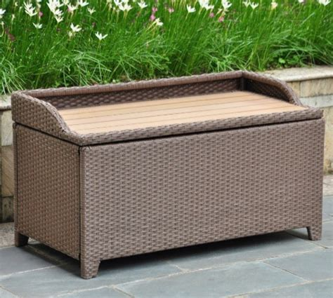 best wicker patio storage deck boxes with seats discount