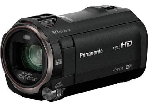 Panasonic Hc V770k Hd Camcorder Handycam Panasonic V770 panasonic hc v770 review trustedreviews