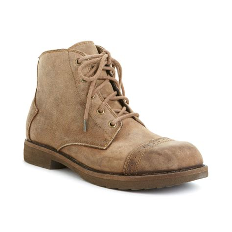 bedstu mens boots bed stu bed stu loop chukka boots in brown for