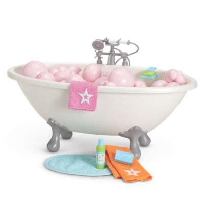 bubble doll bathtub truly me american girl