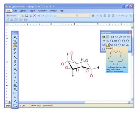 free scientific drawing software symyx draw