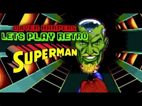 sega genesis superman superman sega mega drive genesis let s play retro