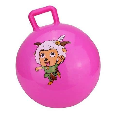 handle mainan bola anak pink