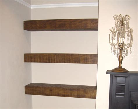chunky wooden shelves chunky floating shelf the cool wood company