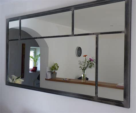 decoration pour maison miroir eurus 120cm industriel