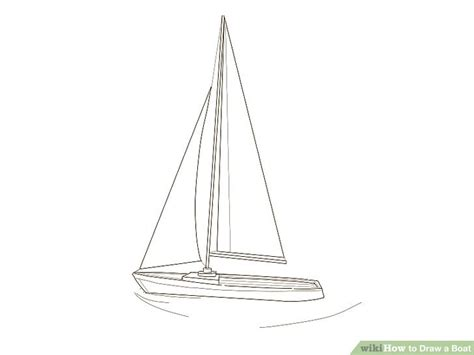 how to draw a boat sinking how to draw a boat wikihow