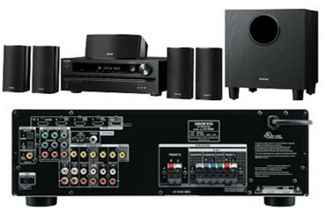 5 1 channel home theater onkyo ht s3500 power lifier