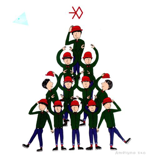 Do Exo Postcard Miracle In December Green Version o and suho then other person really really part in this box exo also glob member