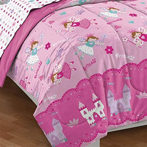pink bed set twin dream factory magical princess ultra soft microfiber girls comforter set pink twin