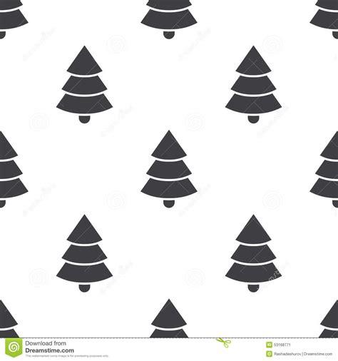 christmas tree pattern vector christmas tree vector seamless pattern stock vector