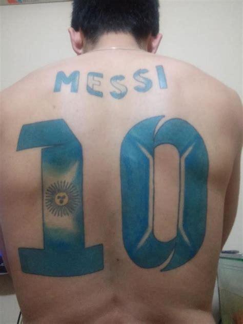 messi tattoo bad fan del tatoo messi on twitter quot rt xfa mundoleodxtv