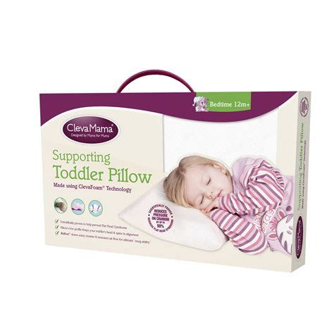 When Toddler Pillow by Clevamama Clevafoam Toddler Pillow