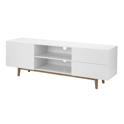 cm upholstery 24designs tv meubel aalborg mat wit 171 woonhome nl