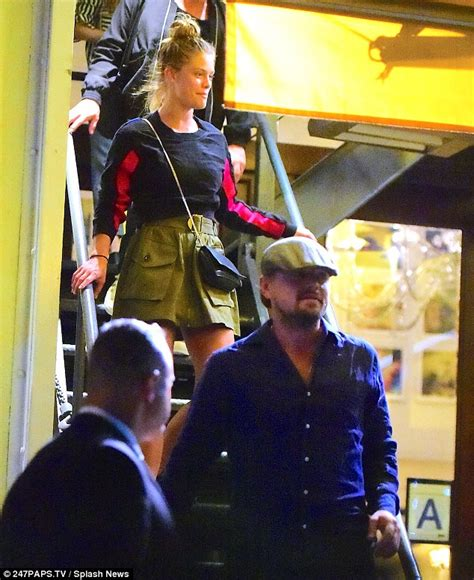 Is Leo Di Caprio Still Secretly Going Out With Model Gf by Leonardo Dicaprio And Agdal Reunite For