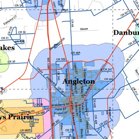 brazoria texas map mapping brazoria county appraisal district