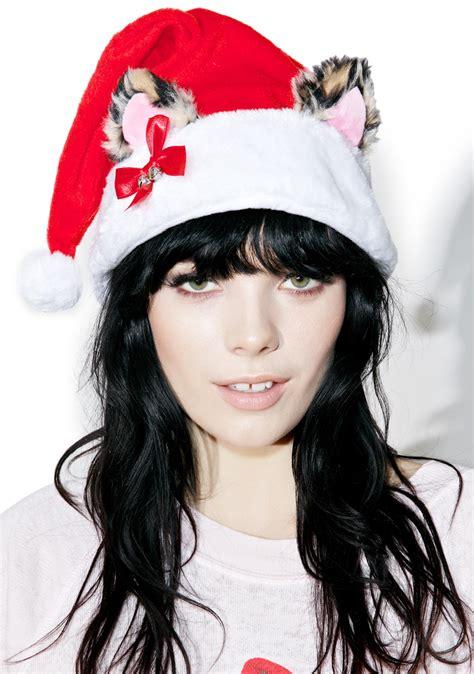 cat ears santa hat dolls kill