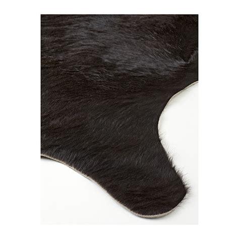 Hide Rugs Ikea koldby cow hide black ikea