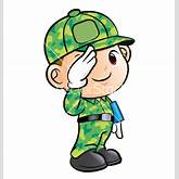 Go Back > Gallery For > Soldiers Salute Clipart
