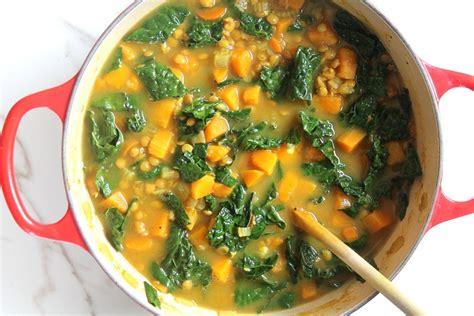 Butternut Squash Kale Soup Detox by Detox Kale Butternut And Lentil Soup Healing Whole Nutrition