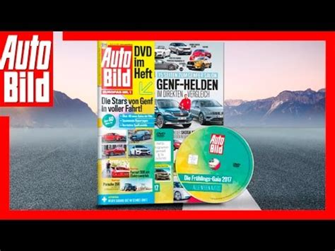 Auto Bild Youtube Channel by Auto Bild 09 2017 Die Auto Bild Mit Dvd Youtube