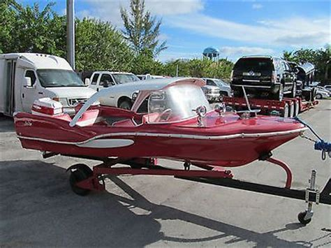 ski king boat sea king boats 1959 red fish antique classic boat